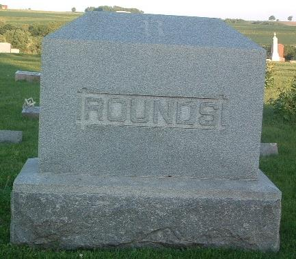ROUNDS, FAMILY HEADSTONE - Mills County, Iowa | FAMILY HEADSTONE ROUNDS
