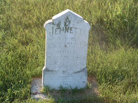 BOWLES, JENNETTA - Mills County, Iowa | JENNETTA BOWLES