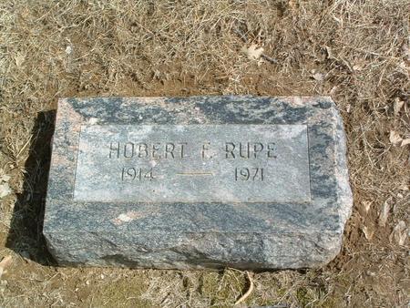 RUPE, HOBERT F. - Mills County, Iowa   HOBERT F. RUPE