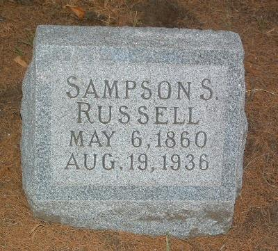 RUSSELL, SAMPSON S. - Mills County, Iowa | SAMPSON S. RUSSELL