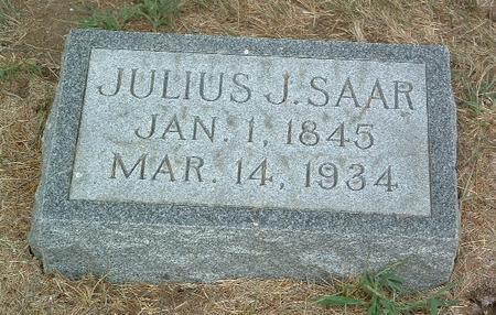 SAAR, JULIUS J. - Mills County, Iowa | JULIUS J. SAAR
