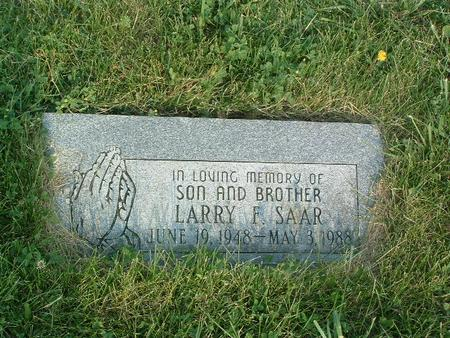 SAAR, LARRY F. - Mills County, Iowa | LARRY F. SAAR