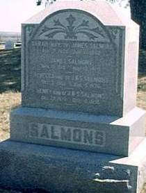 SALMONS, SARAH, JAMES, REBECCA, HENRY - Mills County, Iowa | SARAH, JAMES, REBECCA, HENRY SALMONS