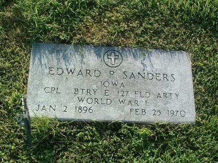 SANDERS, EDWARD P. - Mills County, Iowa | EDWARD P. SANDERS