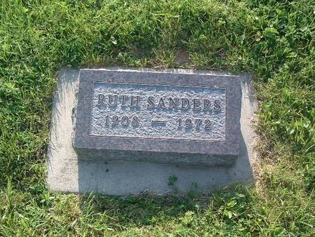 SANDERS, RUTH - Mills County, Iowa | RUTH SANDERS