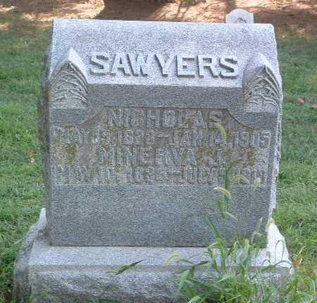 SAWYERS, MINERVA J. - Mills County, Iowa | MINERVA J. SAWYERS