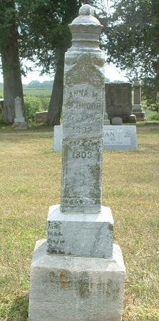 SCHNORR, ANNA M. - Mills County, Iowa | ANNA M. SCHNORR