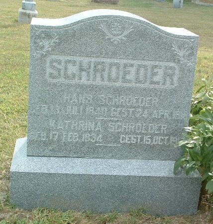 SCHROEDER, HANS - Mills County, Iowa | HANS SCHROEDER