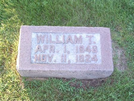 SCHULTZ, WILLIAM T. - Mills County, Iowa | WILLIAM T. SCHULTZ