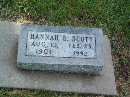 SCOTT, HANNAH E. - Mills County, Iowa | HANNAH E. SCOTT