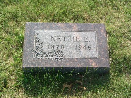 SELL, NETTIE E. - Mills County, Iowa | NETTIE E. SELL
