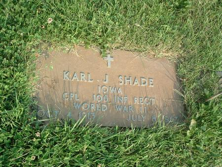 SHADE, KARL J. - Mills County, Iowa | KARL J. SHADE