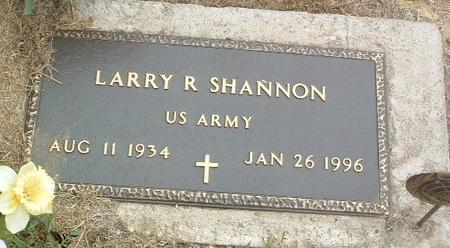 SHANNON, LARRY R. - Mills County, Iowa | LARRY R. SHANNON