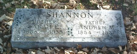 SHANNON, ANDREW M. - Mills County, Iowa | ANDREW M. SHANNON