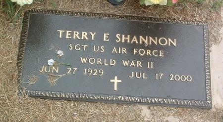 SHANNON, TERRY E. - Mills County, Iowa | TERRY E. SHANNON