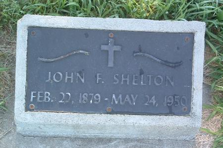 SHELTON, JOHN F. - Mills County, Iowa | JOHN F. SHELTON