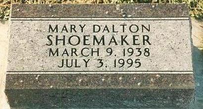DALTON SHOEMAKER, MARY - Mills County, Iowa | MARY DALTON SHOEMAKER