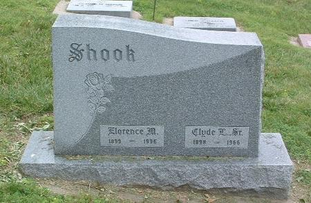 SHOOK, FLORENCE M. - Mills County, Iowa | FLORENCE M. SHOOK