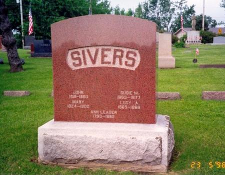 SIVERS, SUSIE - Mills County, Iowa | SUSIE SIVERS