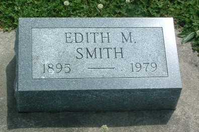 SMITH, EDITH M. - Mills County, Iowa | EDITH M. SMITH