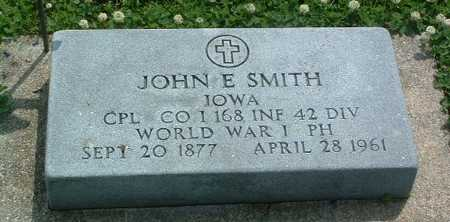 SMITH, JOHN E. - Mills County, Iowa | JOHN E. SMITH