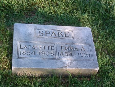 SPAKE, EMMA A. - Mills County, Iowa | EMMA A. SPAKE