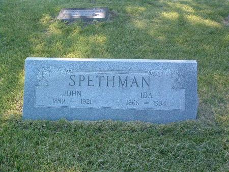 SPETHMAN, JOHN - Mills County, Iowa | JOHN SPETHMAN