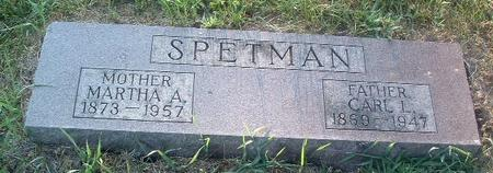 SPETMAN, CARL L. - Mills County, Iowa | CARL L. SPETMAN