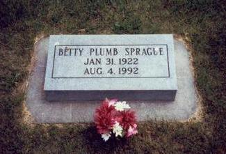 PLUMB SPRAGUE, BETTY - Mills County, Iowa | BETTY PLUMB SPRAGUE