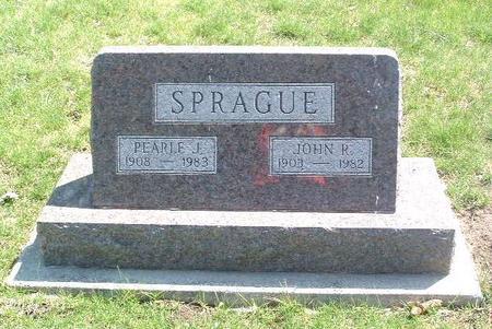 SPRAGUE, PEARLE J. - Mills County, Iowa | PEARLE J. SPRAGUE