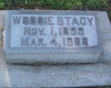 STACY, WOODIE - Mills County, Iowa   WOODIE STACY