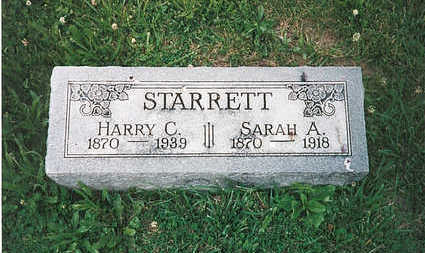 STARRETT, HARRY C - Mills County, Iowa | HARRY C STARRETT