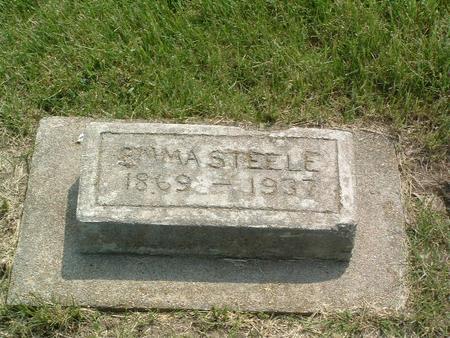 STEELE, EMMA - Mills County, Iowa   EMMA STEELE