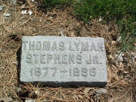 STEPHENS, THOMAS LYMAN JR. - Mills County, Iowa | THOMAS LYMAN JR. STEPHENS