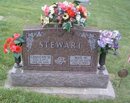 STEWART, CAROLYN M. - Mills County, Iowa | CAROLYN M. STEWART