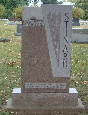 STINARD, FAMILY HEADSTONE - Mills County, Iowa | FAMILY HEADSTONE STINARD