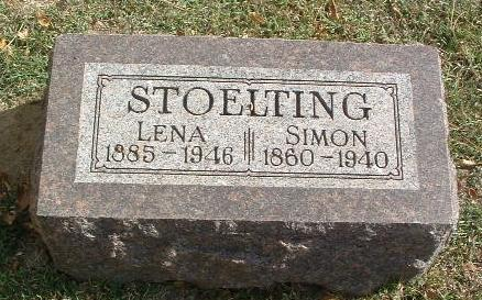 STOELTING, LENA - Mills County, Iowa | LENA STOELTING