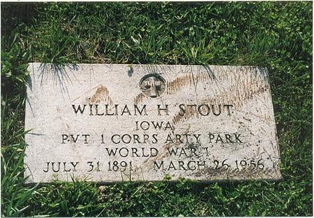 STOUT, WILLIAM HENRY - Mills County, Iowa | WILLIAM HENRY STOUT
