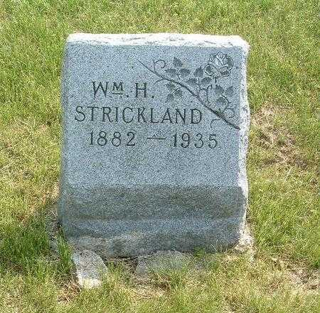 STRICKLAND, WM. H. - Mills County, Iowa | WM. H. STRICKLAND
