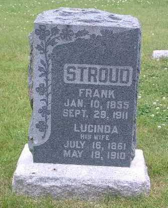 STROUD, LUCINDA - Mills County, Iowa | LUCINDA STROUD