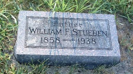 STUEBEN, WILLIAM F. - Mills County, Iowa | WILLIAM F. STUEBEN
