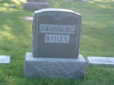 SWANBURG-BAILEY, FAMILY HEADSTONE - Mills County, Iowa | FAMILY HEADSTONE SWANBURG-BAILEY