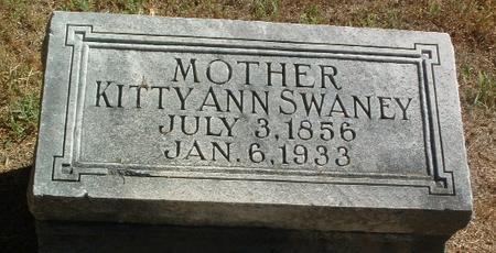 SWANEY, KITTY ANN - Mills County, Iowa | KITTY ANN SWANEY