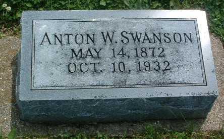SWANSON, ANTON W. - Mills County, Iowa | ANTON W. SWANSON