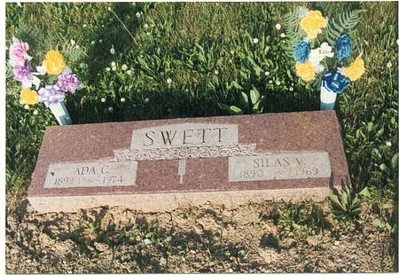 SWETT, SILAS VOLLIE - Mills County, Iowa | SILAS VOLLIE SWETT