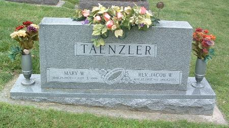 TAENZLER, JACOB W. (REV) - Mills County, Iowa | JACOB W. (REV) TAENZLER