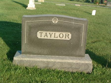 TAYLOR, FAMILY HEADSTONE - Mills County, Iowa | FAMILY HEADSTONE TAYLOR