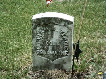TEAGUE, WILLIAM H. - Mills County, Iowa | WILLIAM H. TEAGUE