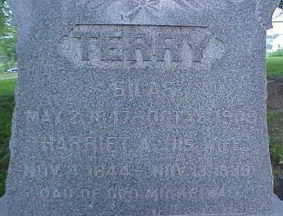 TERRY, HARRIET A. - Mills County, Iowa | HARRIET A. TERRY