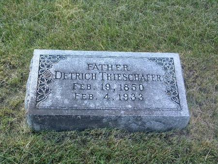 THIESCHAFER, DETRICH - Mills County, Iowa | DETRICH THIESCHAFER
